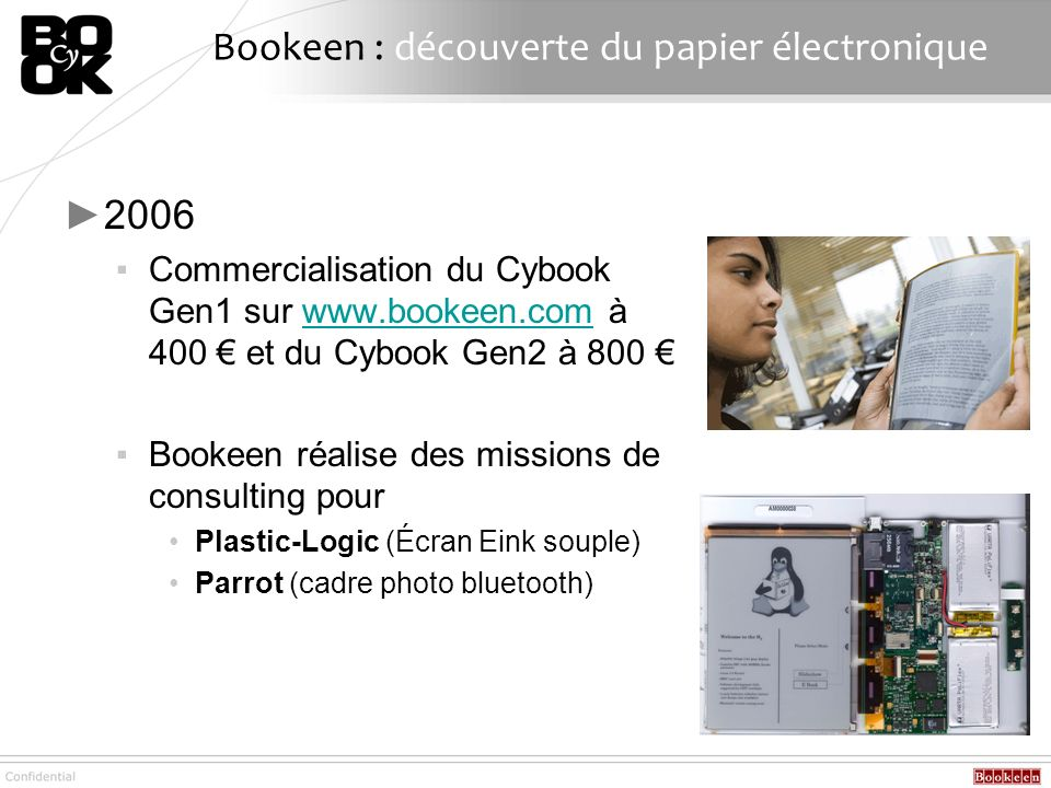 Bookeen : découverte du papier électronique