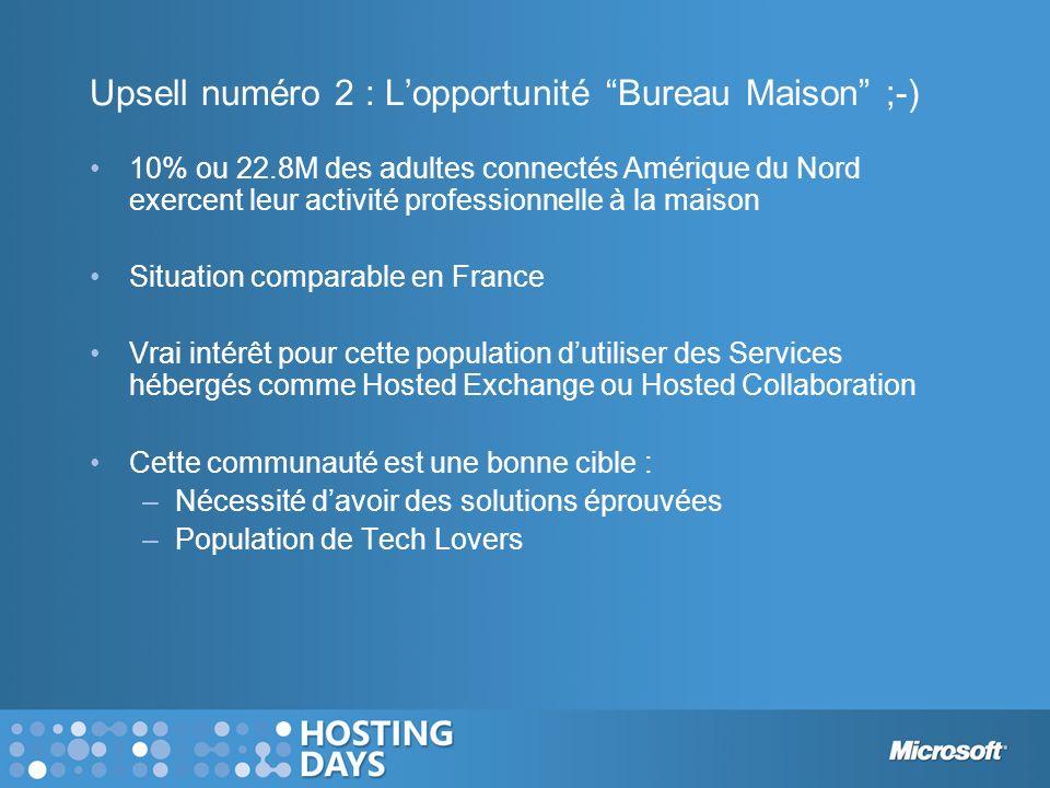 Upsell numéro 2 : L'opportunité Bureau Maison ;-)