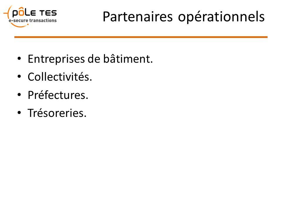 Partenaires opérationnels