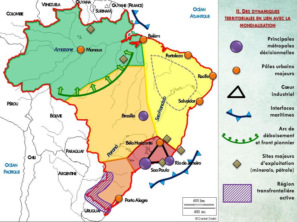 II. Des dynamiques territoriales en lien avec la mondialisation