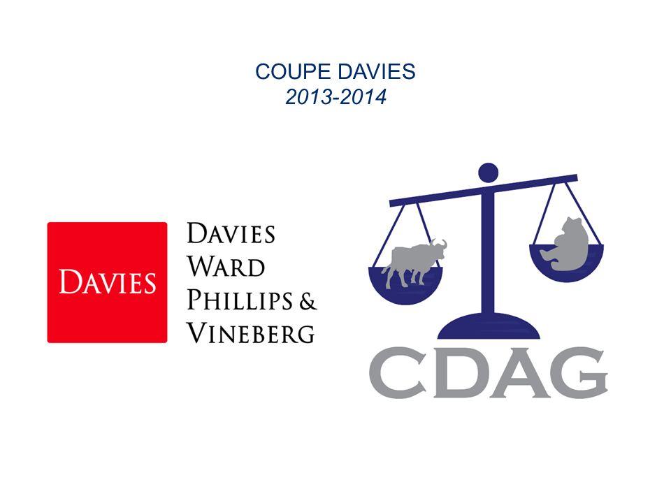 COUPE DAVIES 2013-2014