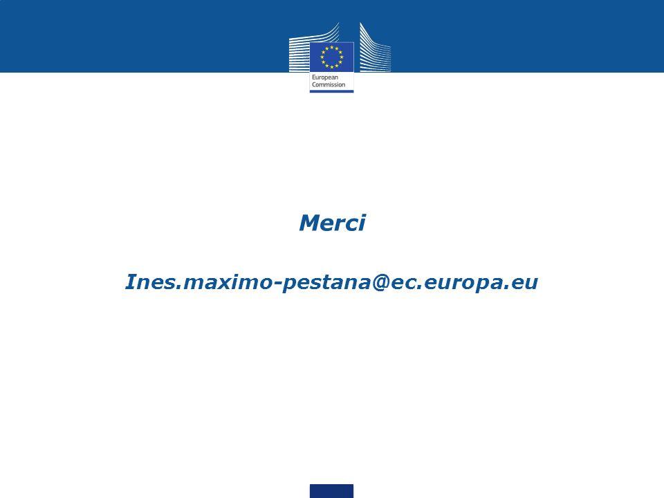 Merci Ines.maximo-pestana@ec.europa.eu