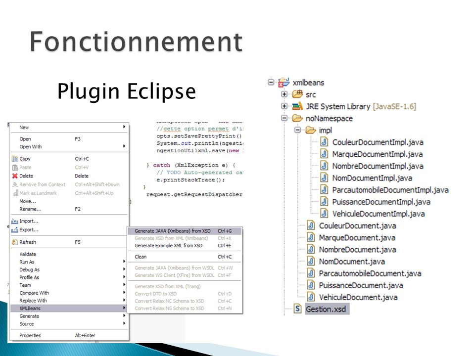 Fonctionnement Plugin Eclipse