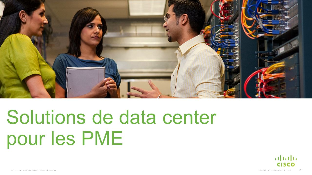 Solutions de data center pour les PME