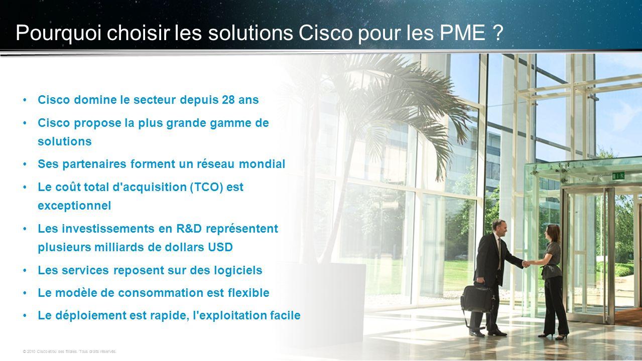 Pourquoi choisir les solutions Cisco pour les PME