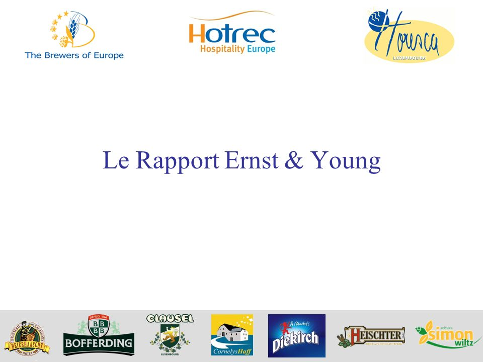Le Rapport Ernst & Young