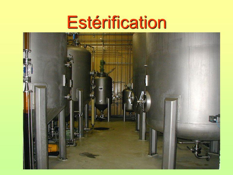 Estérification