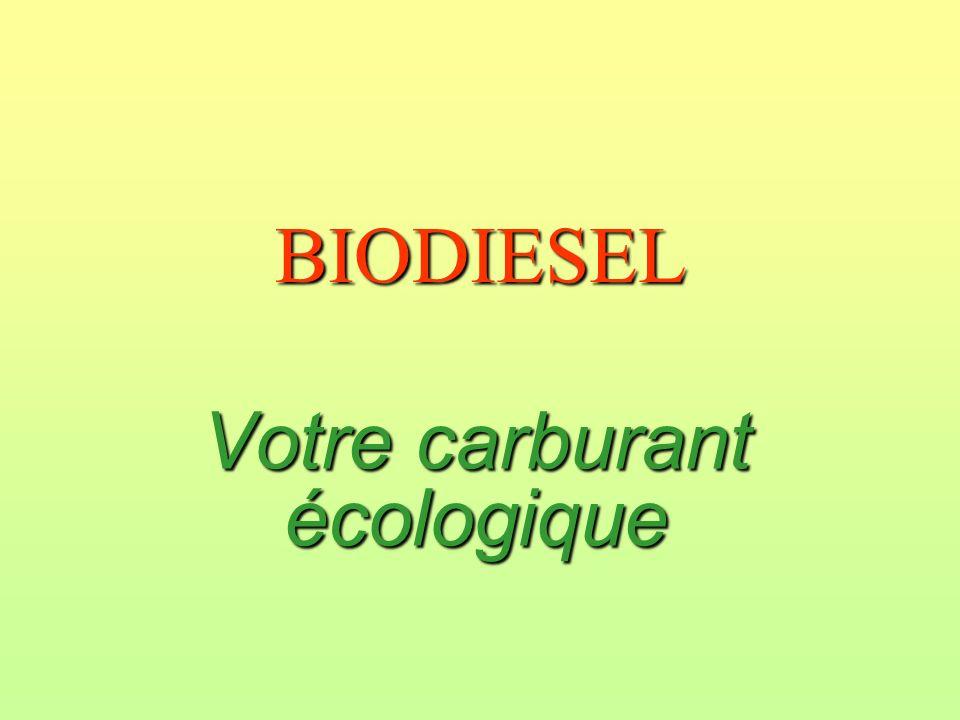 Votre carburant écologique