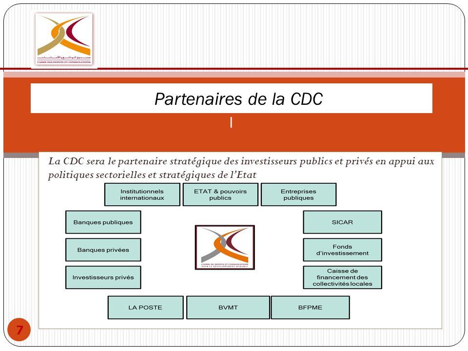 Partenaires de la CDC l