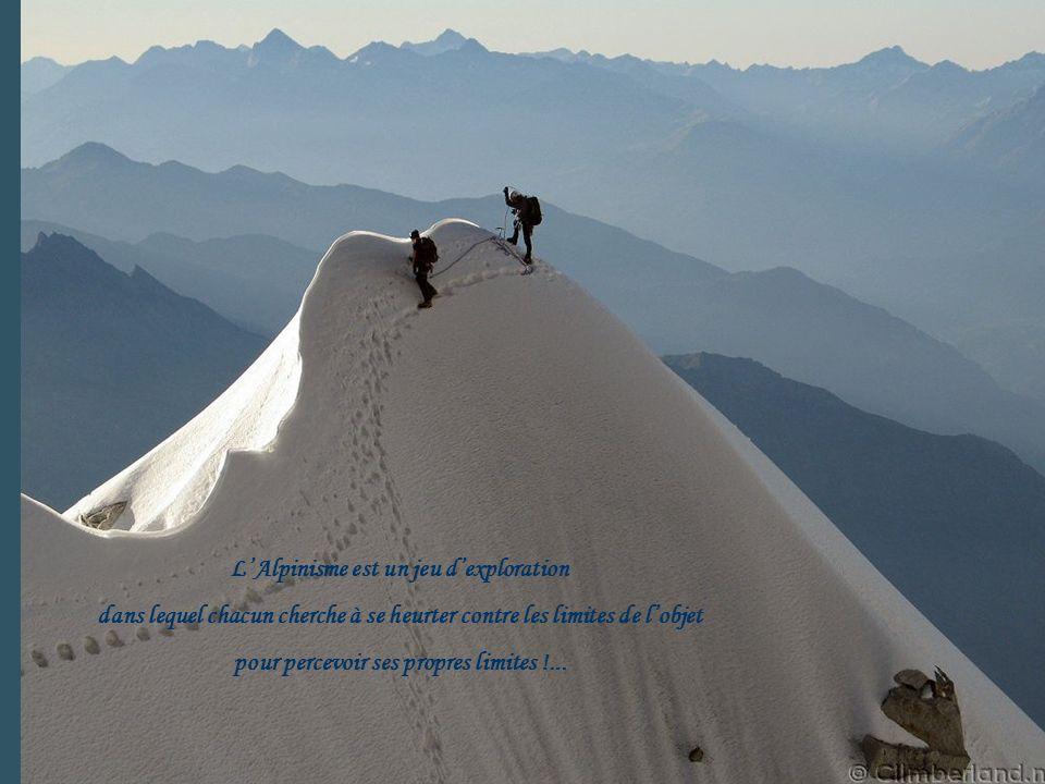L'Alpinisme est un jeu d'exploration