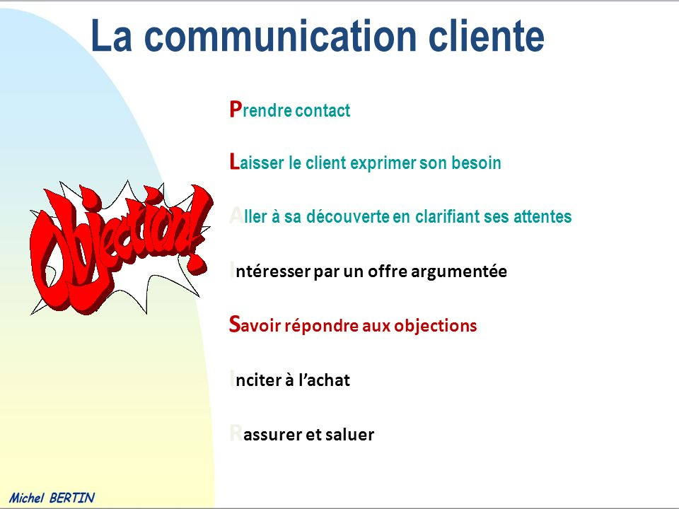La communication cliente
