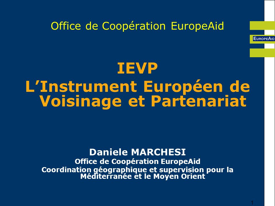 Office de Coopération EuropeAid