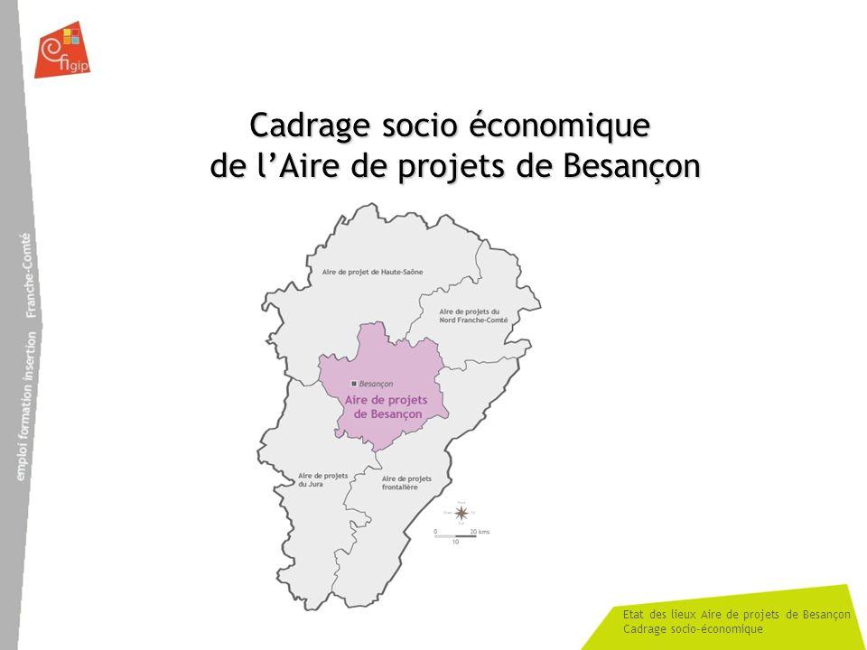 Cadrage socio économique de l'Aire de projets de Besançon
