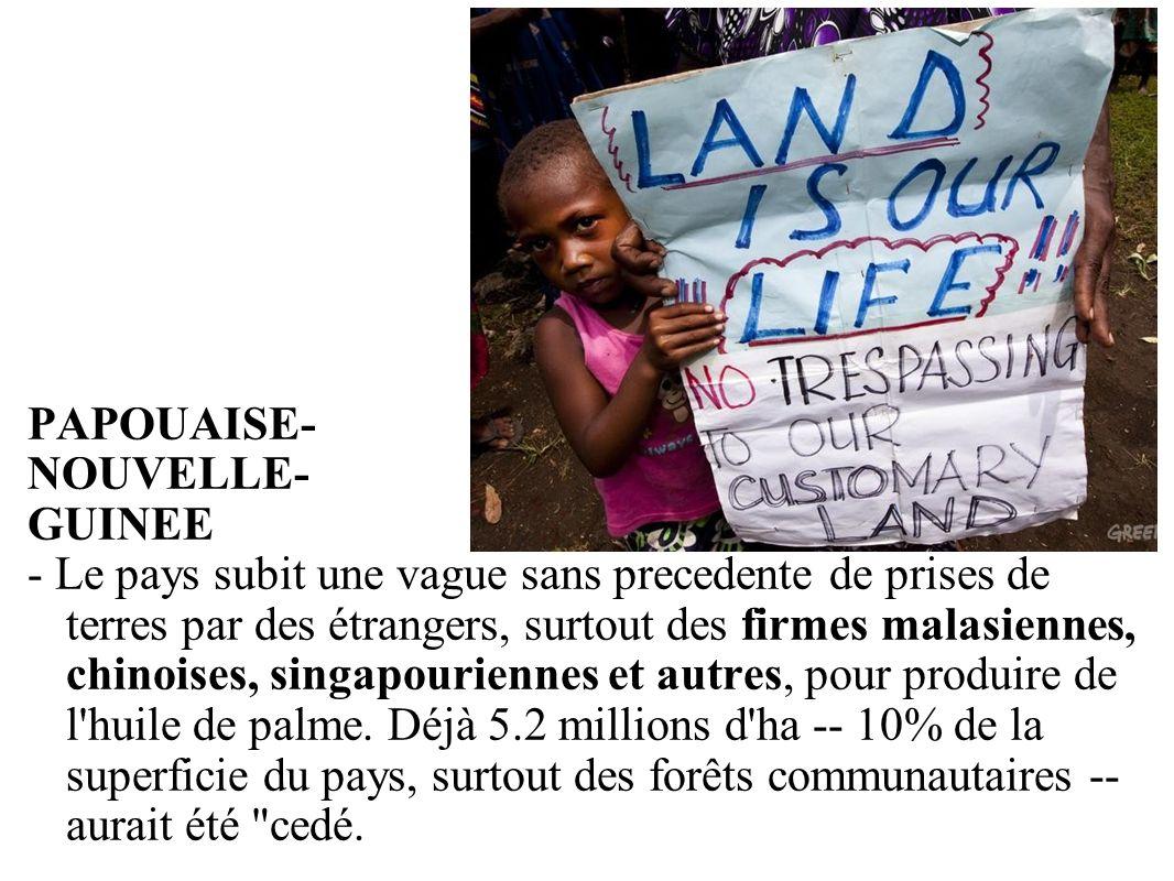 PAPOUAISE- NOUVELLE- GUINEE