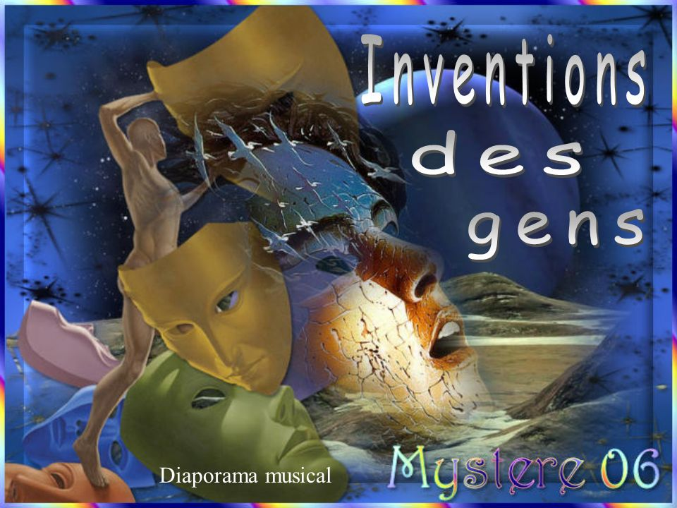 Inventions des gens Diaporama musical