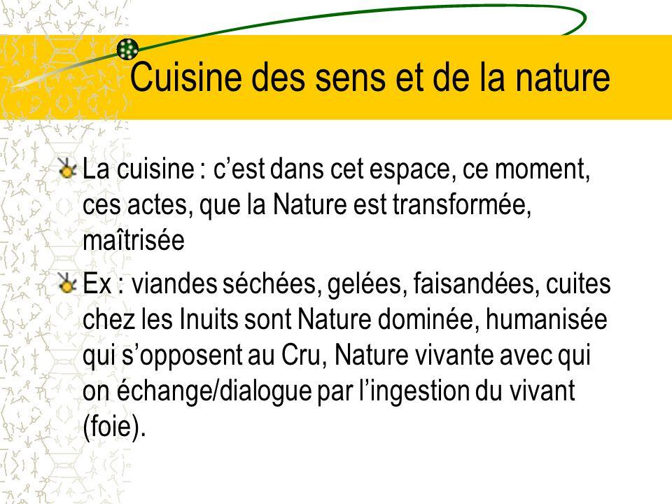 Cuisine des sens et de la nature