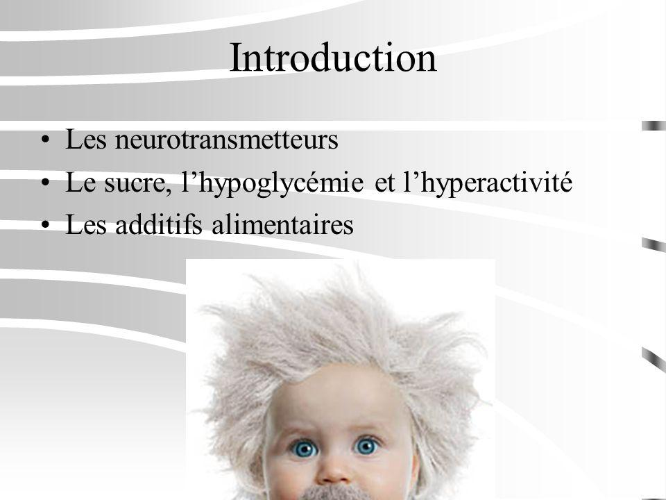 Introduction Les neurotransmetteurs