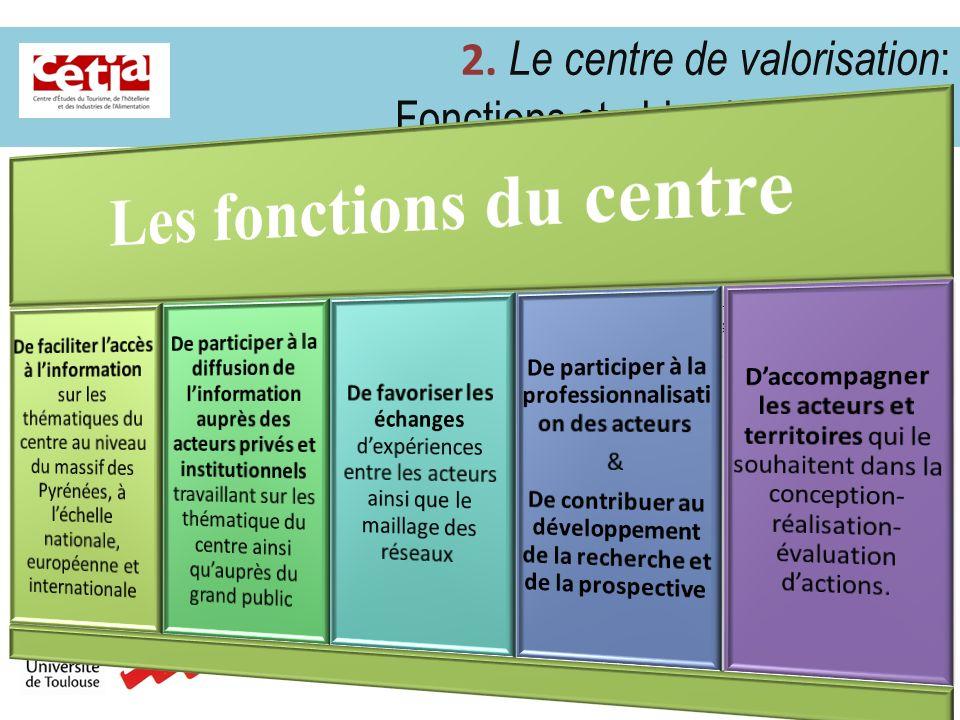 Les fonctions du centre