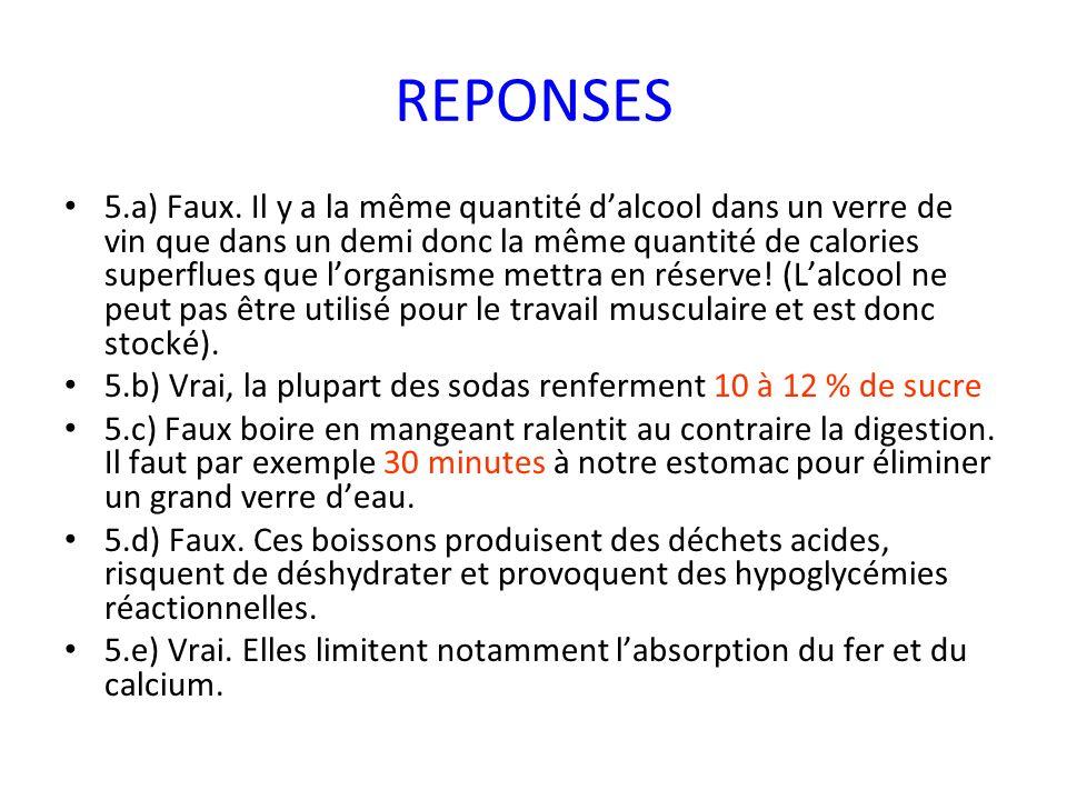 REPONSES