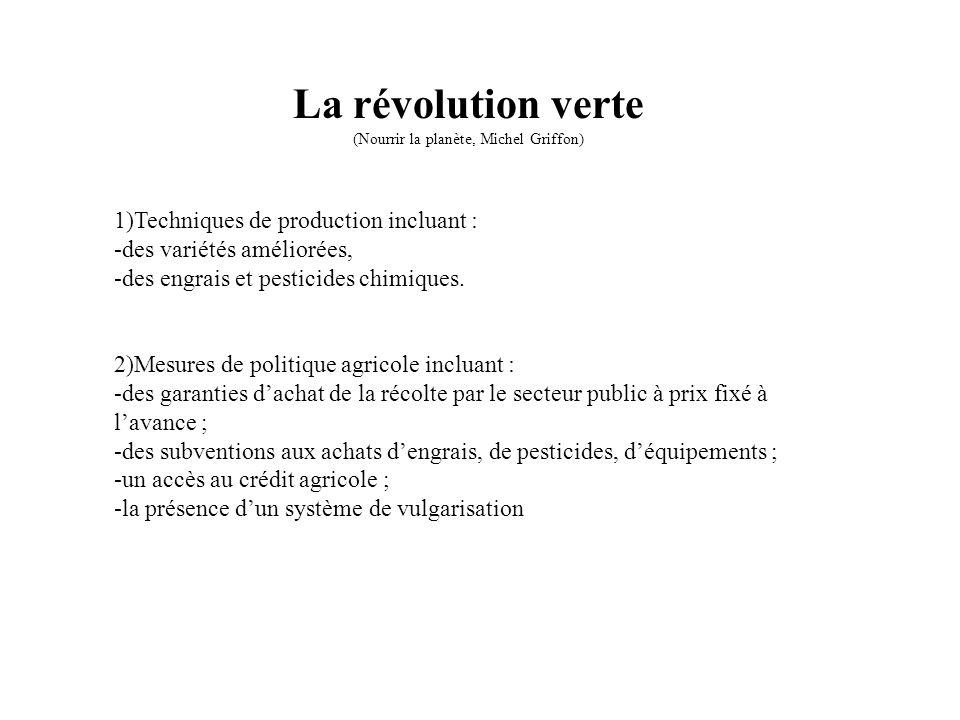 (Nourrir la planète, Michel Griffon)