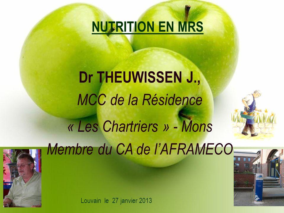 Dr THEUWISSEN J., MCC de la Résidence