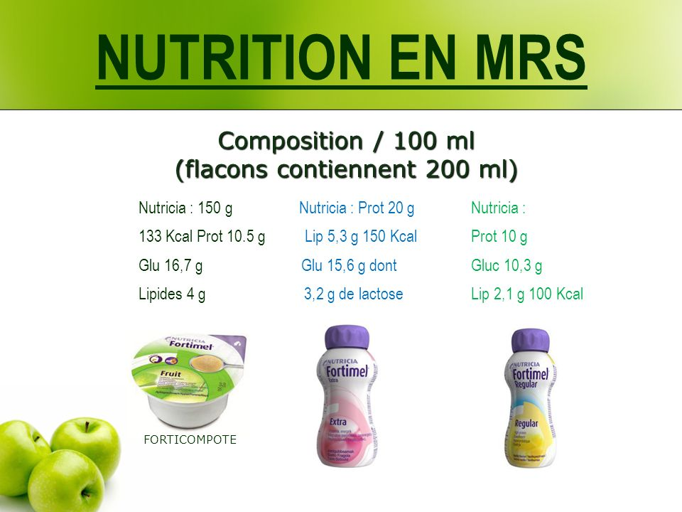 Composition / 100 ml (flacons contiennent 200 ml)