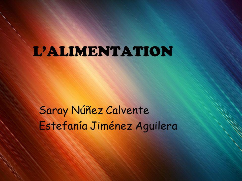 Saray Núñez Calvente Estefanía Jiménez Aguilera