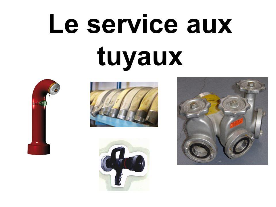 Le service aux tuyaux