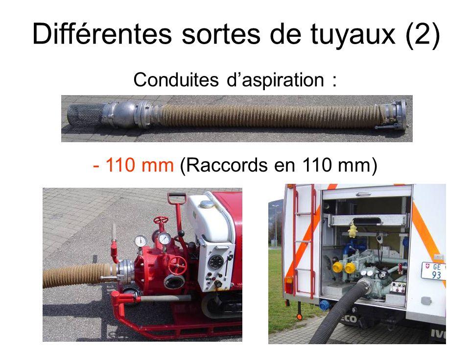 Différentes sortes de tuyaux (2)