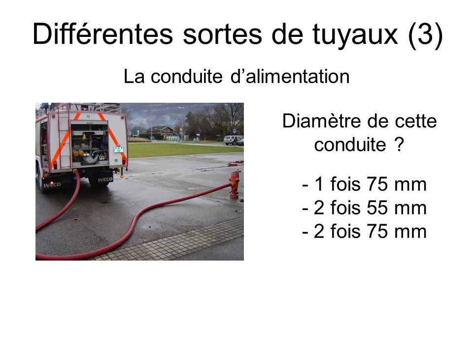 Différentes sortes de tuyaux (3)