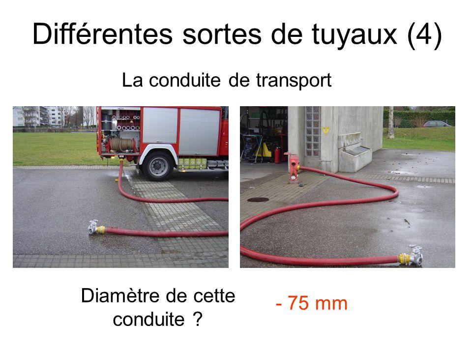 Différentes sortes de tuyaux (4)