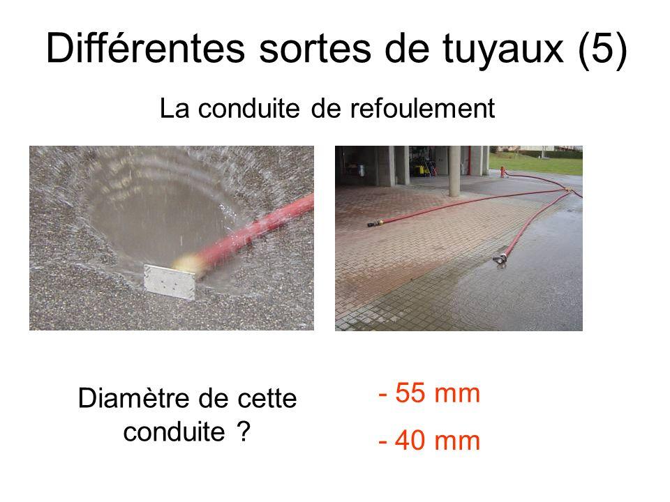 Différentes sortes de tuyaux (5)