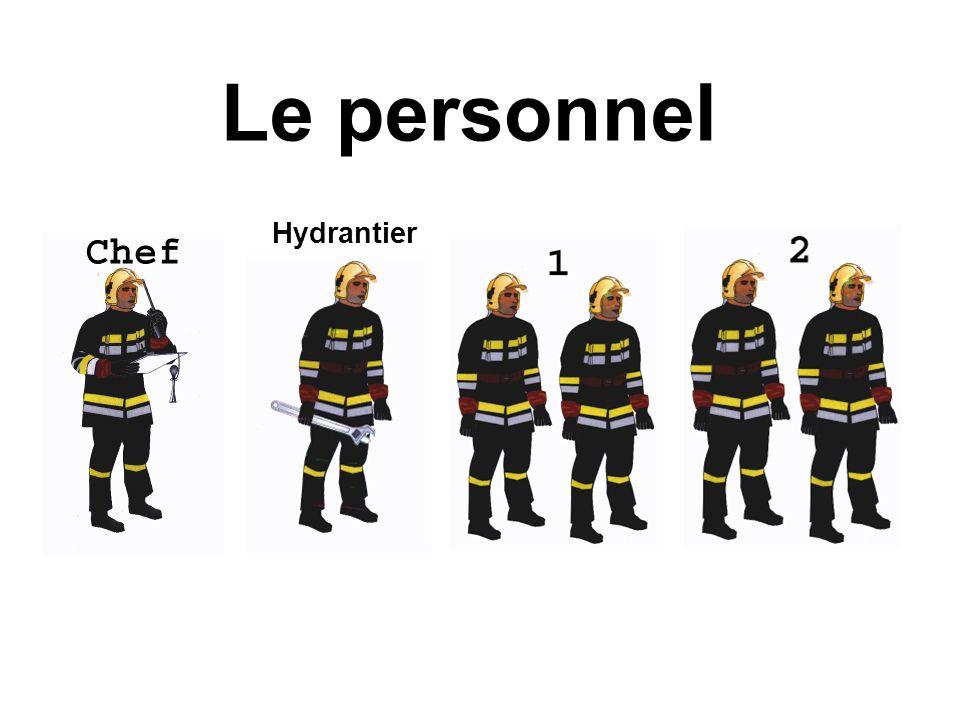 Le personnel Hydrantier