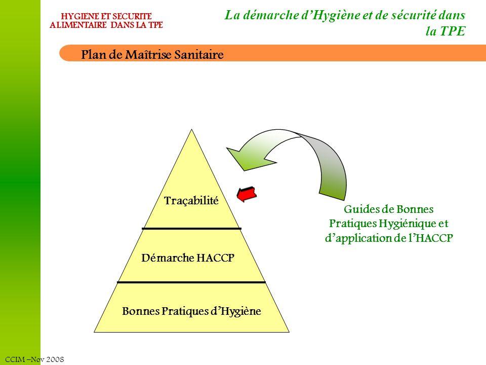La démarche d'Hygiène et de sécurité dans la TPE