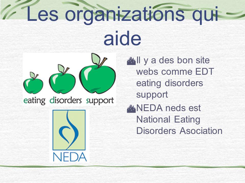 Les organizations qui aide