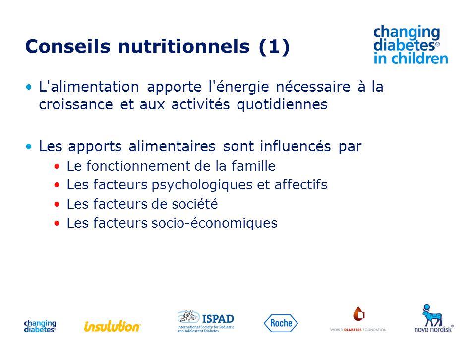 Conseils nutritionnels (1)