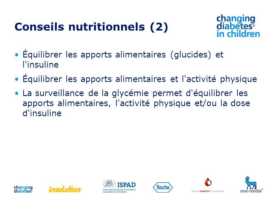Conseils nutritionnels (2)