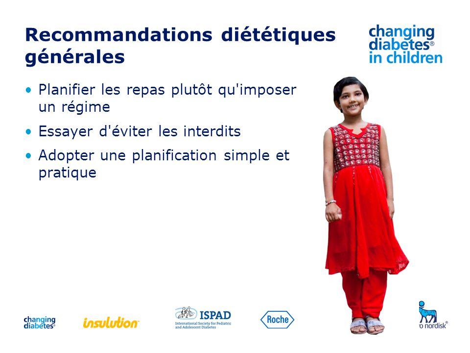 Recommandations diététiques générales