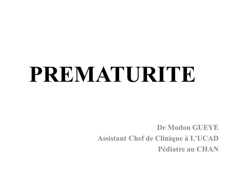 Dr Modou GUEYE Assistant Chef de Clinique à L'UCAD Pédiatre au CHAN