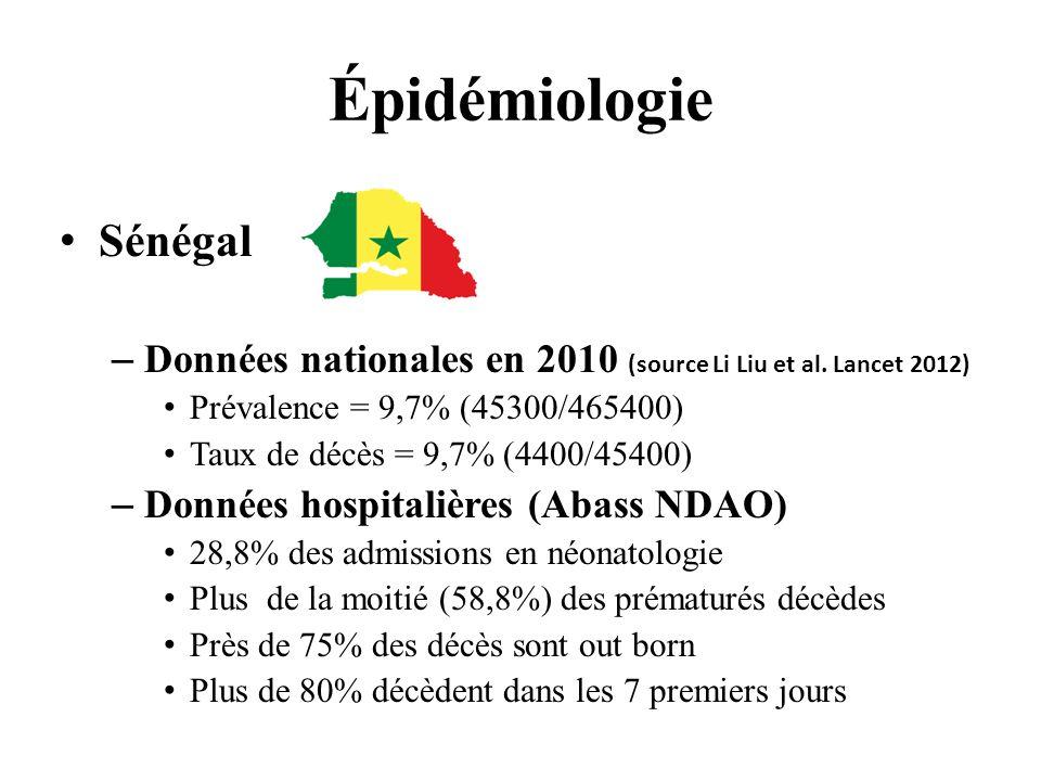 Épidémiologie Sénégal