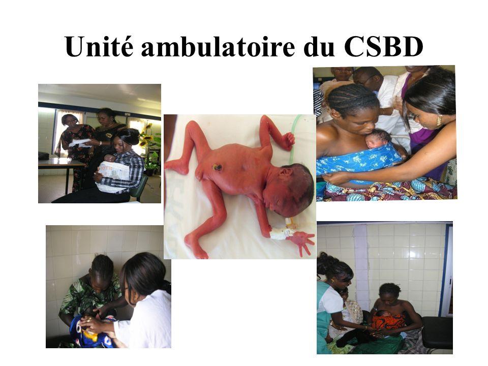 Unité ambulatoire du CSBD