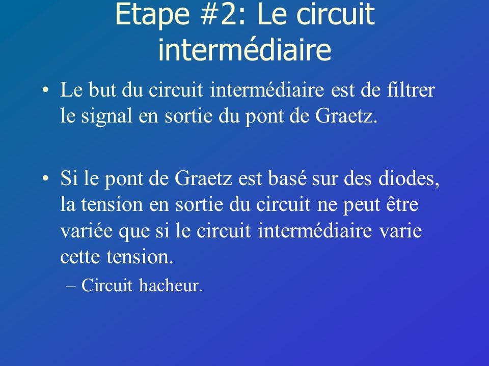 Étape #2: Le circuit intermédiaire