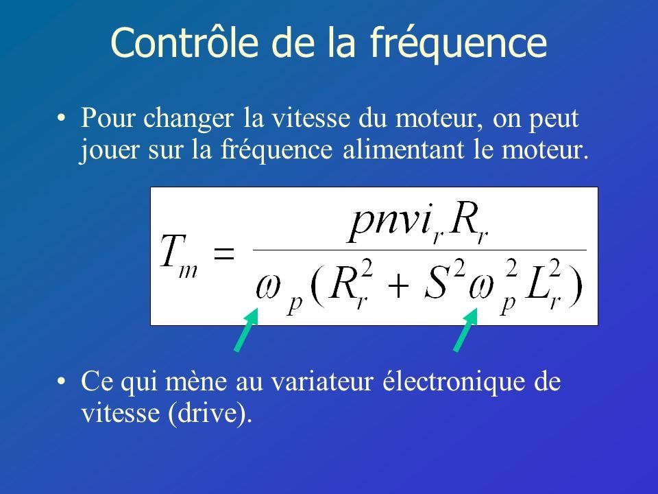 Contrôle de la fréquence