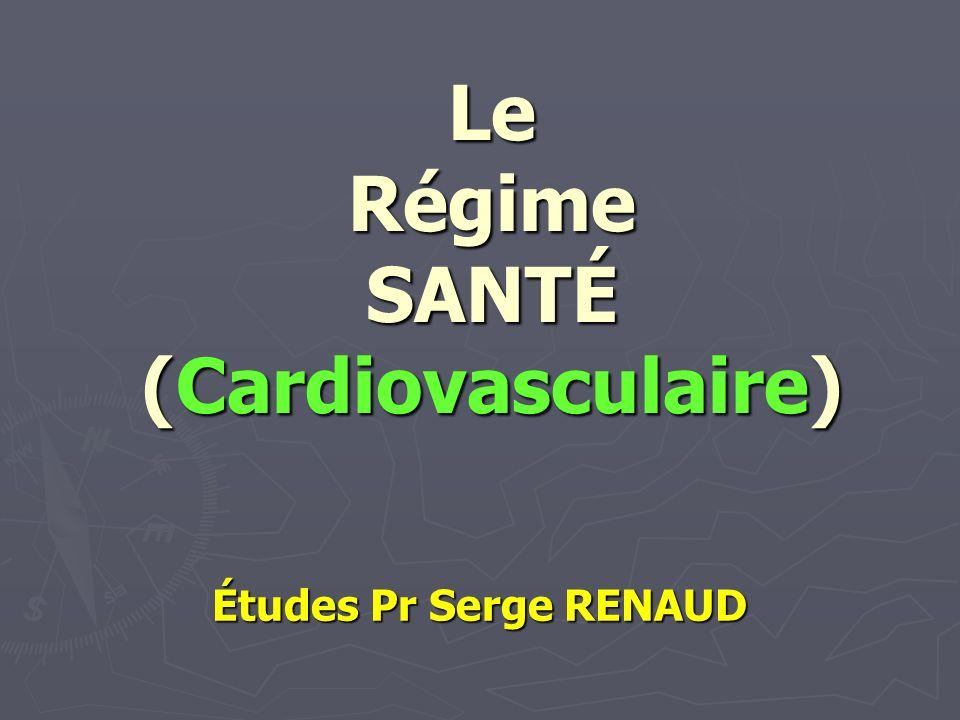 Le Régime SANTÉ (Cardiovasculaire)