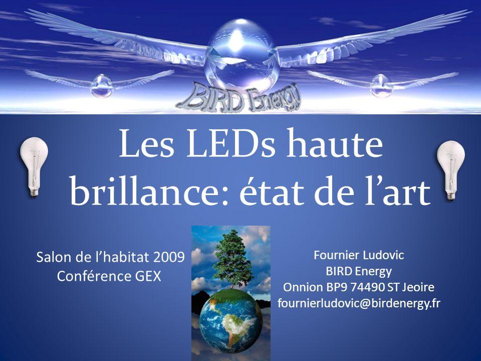 Les LEDs haute brillance: état de l'art