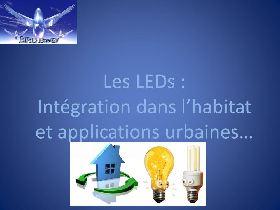 Les LEDs : Intégration dans l'habitat et applications urbaines…