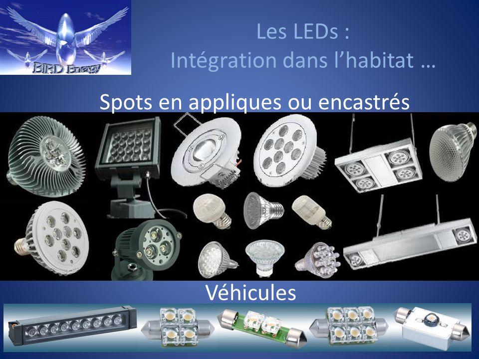Les LEDs : Intégration dans l'habitat …