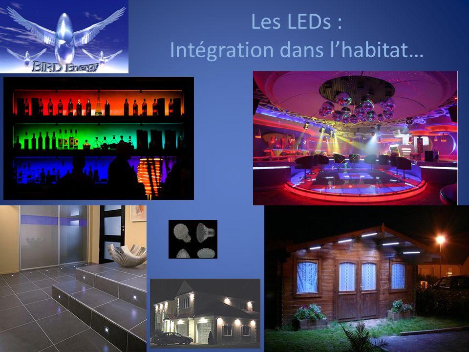 Les LEDs : Intégration dans l'habitat…
