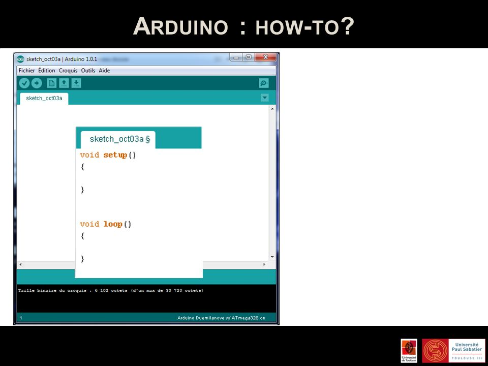 Arduino : how-to