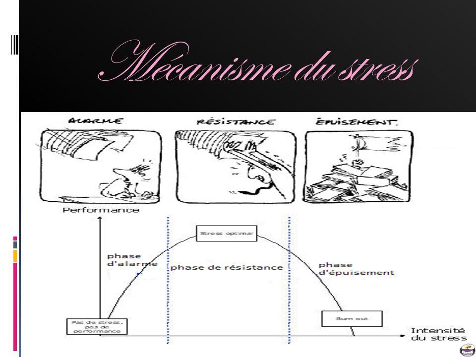 Mécanisme du stress